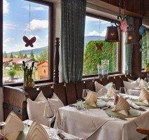 Unser Restaurant mit Blick auf die Terrasse, Quelle: