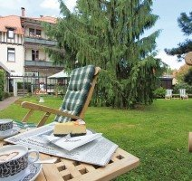 Hotelgarten des Vitalhotels am Stadtpark, Quelle: (c) Vitalhotel am Stadtpark
