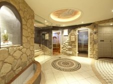 Wellnessbereich im Hotel