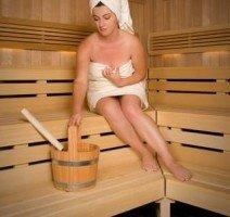 Wellnessbereich Klafs-Sauna, Quelle: