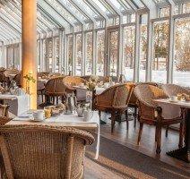 Entspanntes Frühstück im Wintergarten, Quelle: (c) relexa hotel Bad Steben
