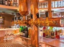 Zapfanlage der Bar