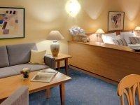 50 m²-Apartments zur Einzelbelegung, Quelle: (c) Best Western Aparthotel Birnbachhöhe