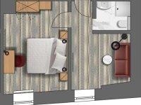 Apartment mit 1 Schlafzimmer, Quelle: (c) Hotel Miriquidi