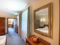 Appartement mit getrenntem Wohn- und Schlafbereich  , Quelle: (c) Romantik Hotel Stryckhaus