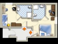 Appartement Lindwurm, Quelle: (c) Sonnenhotel Hoher Hahn
