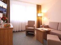 Behindertenfreundliche Einzelzimmer, Quelle: (c) AKZENT Hotel Am Burgholz