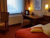 Behindertengerechtes Doppelzimmer, Quelle: (c) AKZENT Hotel Strandhalle