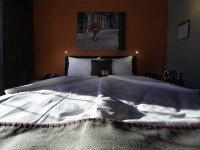 Behindertenzimmer, Quelle: (c) Altes Stahlwerk Business & Lifestyle Hotel