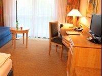 Barrierefreies Zimmer, Quelle: (c) AMEDIA Hotel & Suites Leipzig
