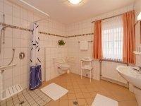 Barrierefreres Zimmer zur Einzelnutzung, Quelle: (c) Hotel zum Hirschen