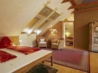 """""""Bionest I"""" - Komfort-Appartement im Lehmbaudachboden, Quelle: (c) Biolandhaus Arche"""