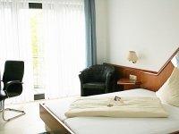 Business Doppelzimmer, Quelle: (c) Merfelder Hof Hotel und Restaurant