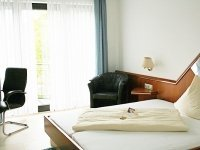 Business Einzelzimmer, Quelle: (c) Merfelder Hof Hotel und Restaurant