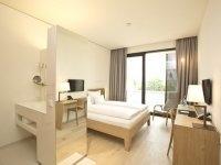 Comfort Einzelzimmer im Hotel Kloster Haydau, Quelle: (c) Hotel Kloster Haydau