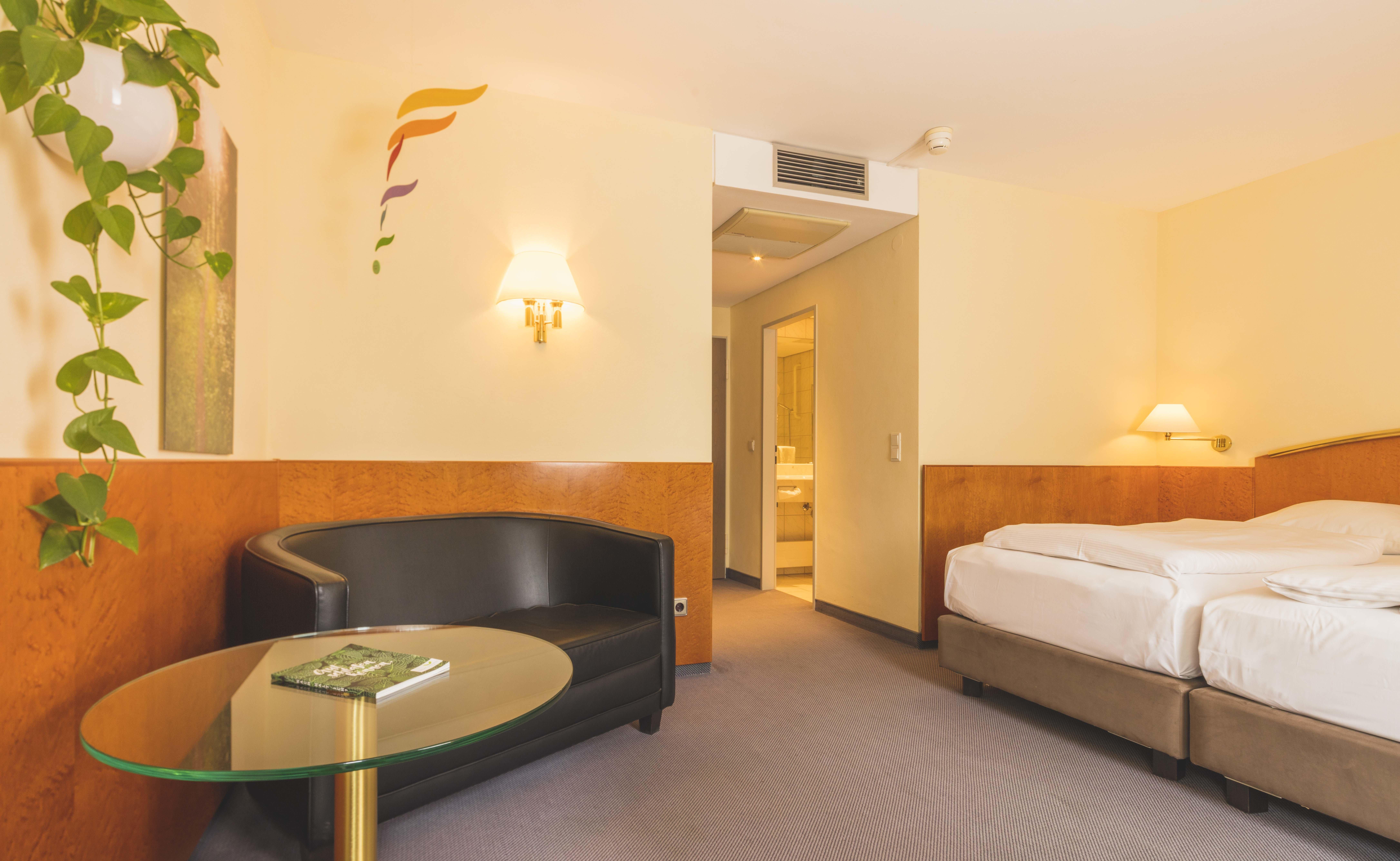 Comfort Zimmer, Quelle: (c) Creativhotel Luise und Wellnessoase LUNYU
