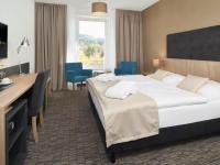 De Luxe Doppelzimmer zur Einzelnutzung, Quelle: (c) Spa Hotel Děvín *** Superior