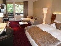 Deluxe Doppelzimmer Lüneburger Heide, Quelle: (c) Hotel Heide Kröpke