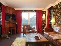 Deluxe-Doppelzimmer mit Whirlwanne oder Dusche, Quelle: (c) Moselstern****Parkhotel 'Krähennest'