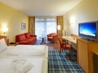 Standard Doppelzimmer zur Landseite, Quelle: (c) Göbel·s Seehotel Diemelsee