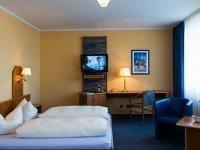 Doppelzimmer, Quelle: (c) AKZENT Hotel Residence Bautzen