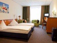 Doppelzimmer, Quelle: (c) Center Hotel Alte Spinnerei Burgstädt