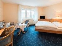 Doppelzimmer, Quelle: (c) Hotel Rose Bitzfeld