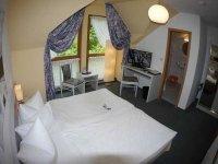 Doppelzimmer, Quelle: (c) AKZENT Berghotel Rosstrappe