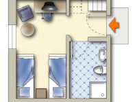 Doppelzimmer Eco Knappenstube, Quelle: (c) Sonnenhotel Hoher Hahn