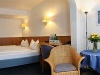 Standard Doppelzimmer Seitenflügel, Quelle: (c) Hotel Ebertor