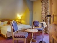 Doppelzimmer Komfort im Schloss, Quelle: (c) Hotel Schloss Nebra