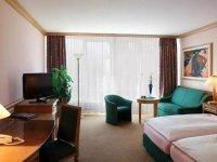 Doppelzimmer, Quelle: (c) AMEDIA Hotel & Suites Leipzig