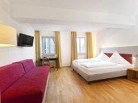 Doppelzimmer als Einzelzimmer, Quelle: (c) AKZENT Brauerei Hotel Hirsch