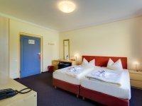 Doppelzimmer Standard im Nebengebäude, Quelle: (c) Hotel Schloss Nebra