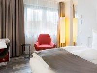 Doppelzimmer Deluxe, Quelle: (c) DORMERO Hotel Hannover