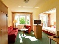 Doppelzimmer Gästehaus, Quelle: (c) Hotel Kloster Nimbschen