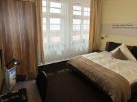 Doppelzimmer im Erdgeschoss, Quelle: (c) AKZENT Strandhotels Seestern & Delphin