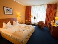 Doppelzimmer in Einzelnutzung, Quelle: (c) AKZENT Hotel Residenz