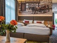 Doppelzimmer Komfort Plus , Quelle: (c) AKZENT Hotel Villa Saxer