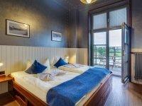 Doppelzimmer mit Balkon, Quelle: (c) Hotel Dömitzer Hafen