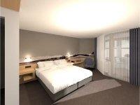 Doppelzimmer mit Balkon, Quelle: (c) Landhotel Wittstaig