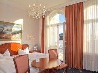 Doppelzimmer mit Balkon, Quelle: (c) Romantik Hotel Esplanade