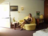 Doppelzimmer mit Balkon zum See, Quelle: (c) AKZENT Hotel Löwen