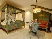 Doppelzimmer mit Himmelbett, Quelle: (c) Wellness Hotel Talblick
