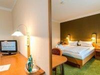 Doppelzimmer mit Schlossblick, Quelle: (c) Halbersbacher Parkhotel Biedenkopf