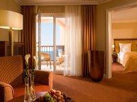 Doppelzimmer Gran Deluxe mit seitl. Meerblick, Quelle: (c) Hotel Gran Belveder am Timmendorfer Strand