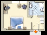 Doppelzimmer Morgenleithe, Quelle: (c) Sonnenhotel Hoher Hahn