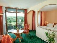 Doppelzimmer Parkblick, Quelle: (c) Hotel am Kurhaus in Bad Schlema