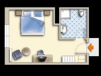 Doppelzimmer Schwibbogen, Quelle: (c) Sonnenhotel Hoher Hahn