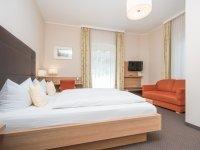 Doppelzimmer Seeseite Komfort , Quelle: (c) Seehotel Restaurant Grauer Bär